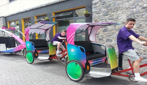 sky comedy festival rickshaw
