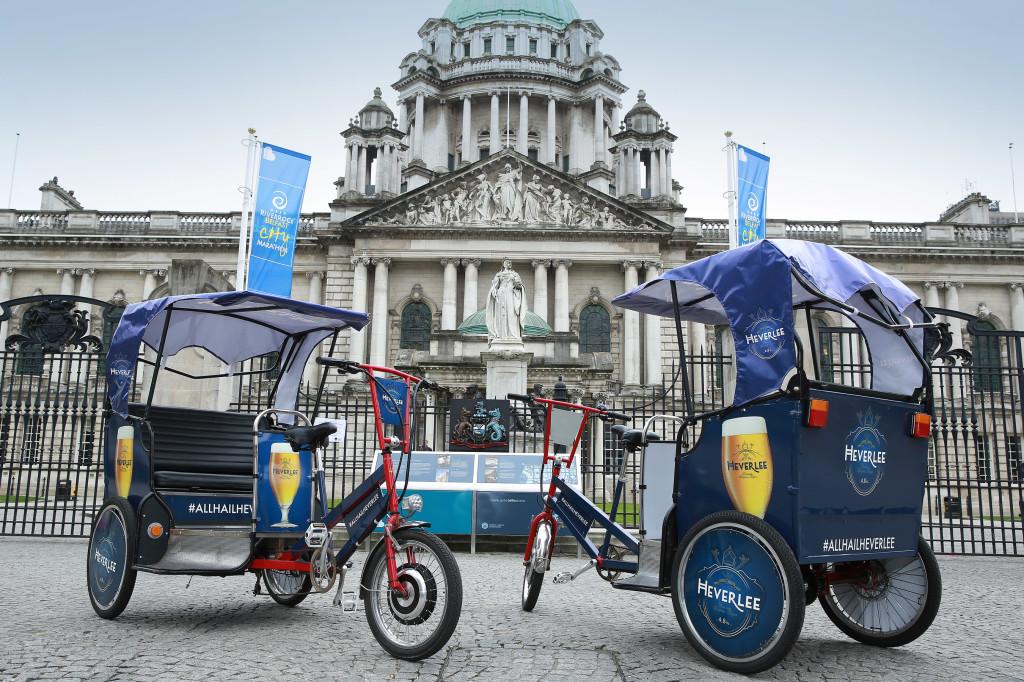 Belfast Pedicab promotion.