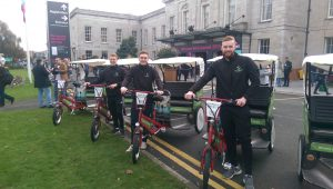 web summit rickshaws