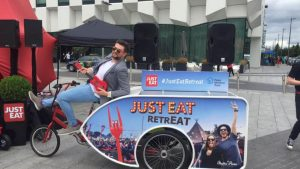 just-eat-press-launch rickshaw